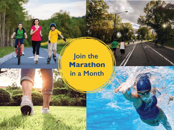 Marathon in a Month